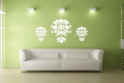 trendsetting wedding - wedding blog::: Damask Wall Art Decal