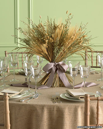 some of Martha Stewart 39s nonfloral centerpiece ideas as inspiration
