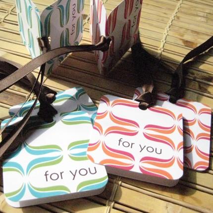 Gift tag card